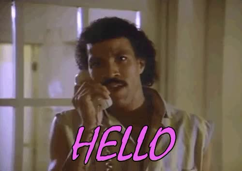 Watch and share Lionel Richie GIFs and Hello GIFs on Gfycat