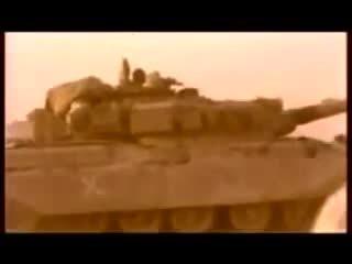 destroyedtanks, Iranian Mk-5P Chieftain variant struck at long range during the Iran-Iraq war [gfy] (reddit) GIFs