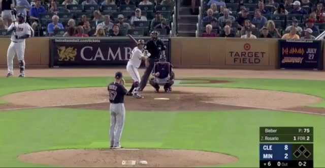 Watch and share Cleveland Indians GIFs and Minnesota Twins GIFs on Gfycat