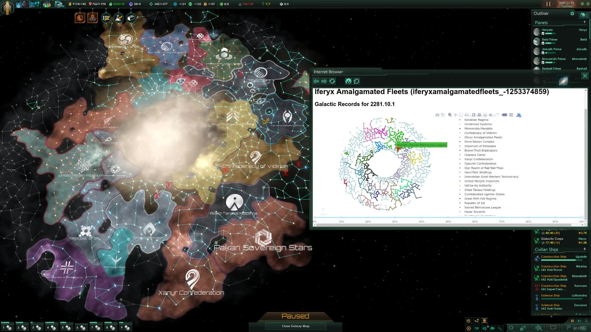stellaris dashboard: Historical Map GIFs