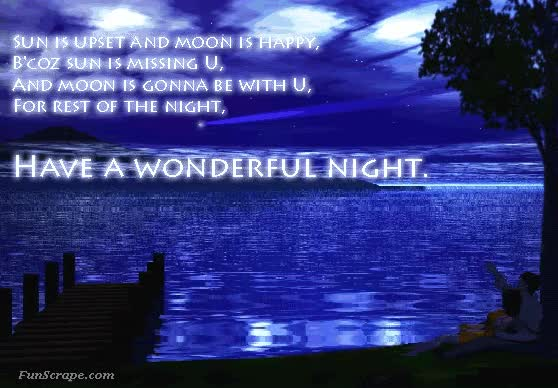 Watch and share Wonderful Night Graphic For Myspace GIFs on Gfycat