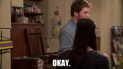 Watch this parks and rec GIF on Gfycat. Discover more andy dwyer, ann perkins, april ludgate, ben wyatt, chris traeger, donna meagle, leslie knope, parks and rec, parks and recreation, ron swanson, tom haverford GIFs on Gfycat