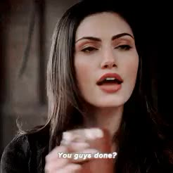 """Watch """"You guys done? This macho stuff is cute and all but don't m GIF on Gfycat. Discover more Gifs, Hayley, Hayley Marshall, Phoebe Tonkin, The Originals, made by jenn GIFs on Gfycat"""