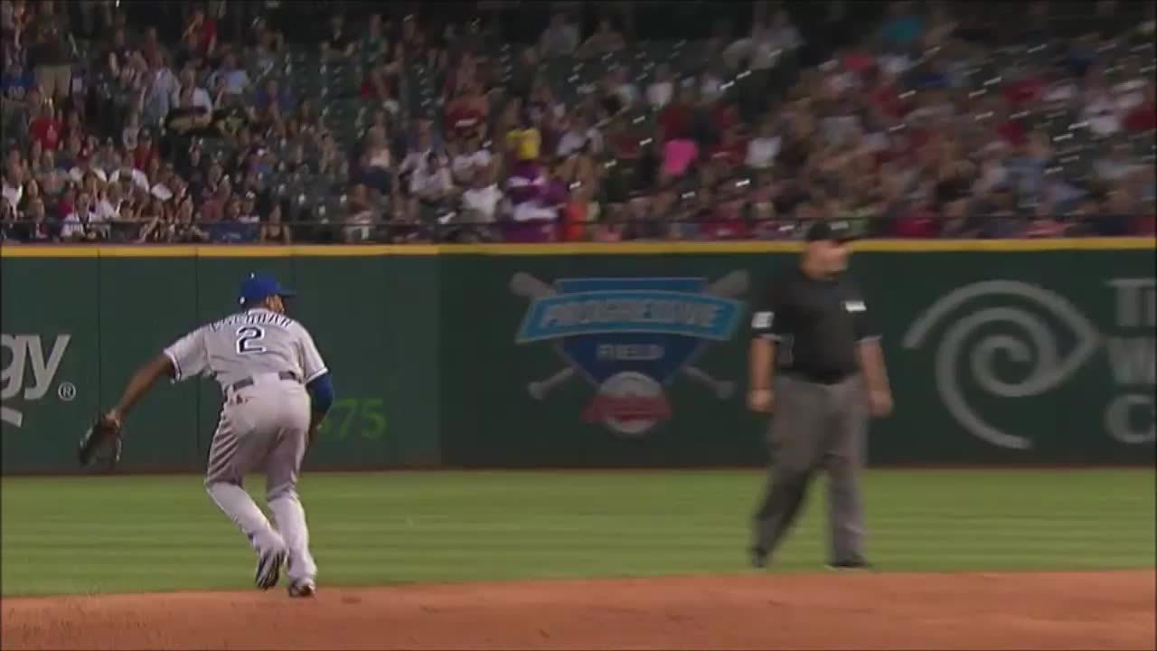 baseball, kcroyals, Alcides Escobar Punchout GIFs