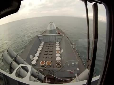 MissileGfys, missilegfys, HMS Richmond fires Sea Wolf Missiles (reddit) GIFs