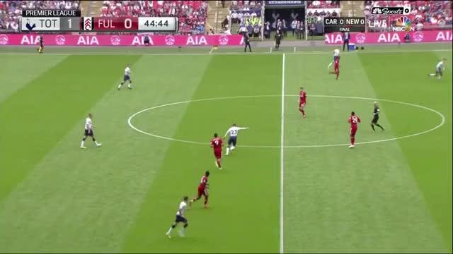 Eriksen pass/Dele bad touch vs Fulham prem 18/08/2018