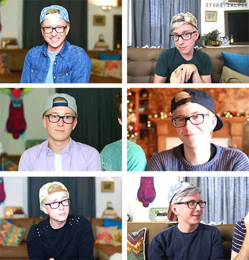 Watch and share Tyler Oakley GIFs and Youtuber GIFs on Gfycat