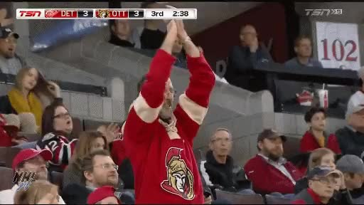 Watch and share Ottawa Senators Fan GIFs on Gfycat