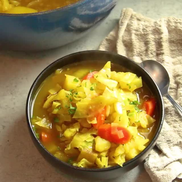 Watch and share Curry Cabbage Soup GIFs and Vegetarian GIFs by sydbobyd on Gfycat