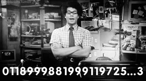 Watch and share Itcrowd, Emergency, Number, 911 GIFs on Gfycat
