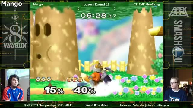 1001 Mew2king Edgeguards (with Sheik)