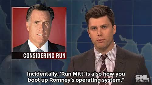 Watch and share Weekend Update GIFs and Mitt Romney GIFs on Gfycat