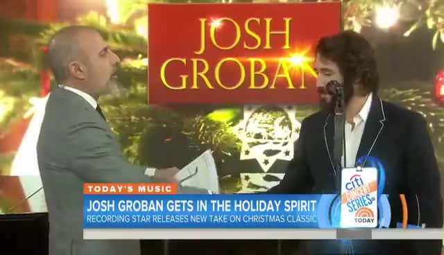 "Watch and share Josh Groban "" Broadway!"" GIFs on Gfycat"