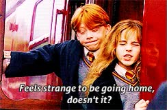 Watch and share Ron Weasley Harry Potter Gifs Pf Hermione Granger Hagrid GIFs on Gfycat