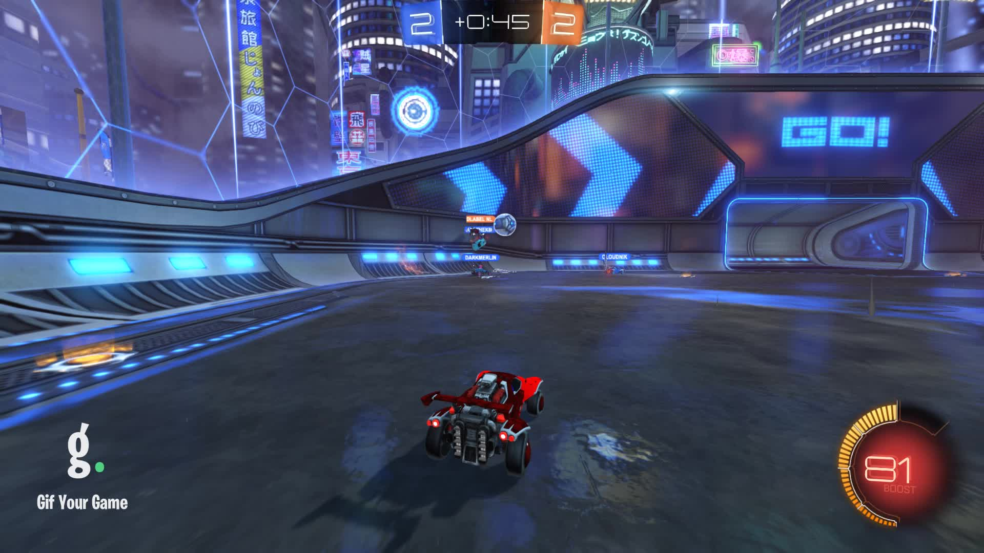 Gif Your Game, GifYourGame, Goal, Rocket League, RocketLeague, Shadow2801, Goal 5: Redlabel nl GIFs