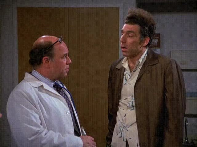 Watch and share Seinfeld GIFs and Kramer GIFs by KR on Gfycat