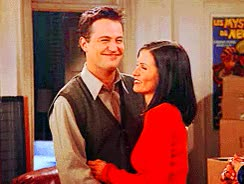 Watch and share Monica And Chandler Monica And Chandler GIFs on Gfycat