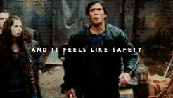 Watch and share The100edit GIFs and Bellarke GIFs on Gfycat