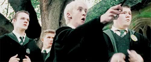 Watch and share Professor Moody GIFs and Draco Malfoy GIFs on Gfycat