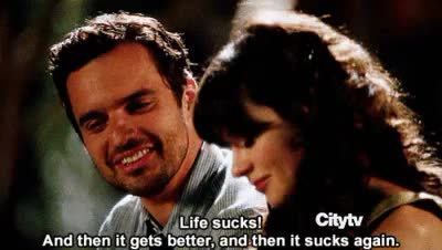 Watch and share Relationship Quotes GIFs and Jake Johnson GIFs on Gfycat
