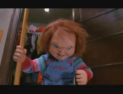 Watch Chucky GIF on Gfycat. Discover more child's play 2, chucky GIFs on Gfycat