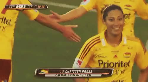 Watch and share Christen Press GIFs and Soccer GIFs on Gfycat