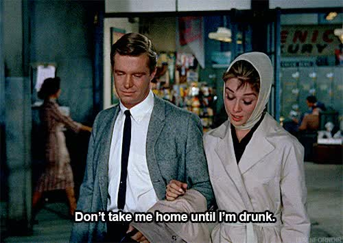 Watch and share Breakfast At Tiffanys GIFs and Audrey Hepburn GIFs on Gfycat