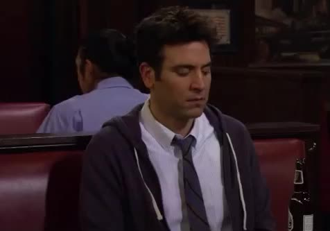 Disappointed, GIF Brewery, HIMYM, How I Met Your Mother, Josh Radnor, Mosby, Sad, Ted, Disappointed Ted Mosby GIFs