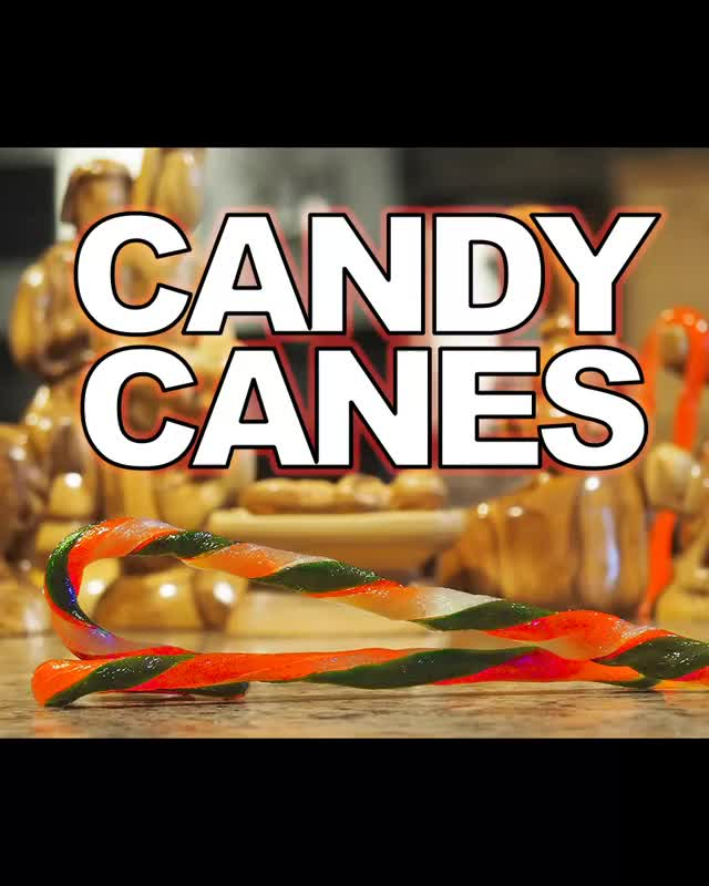 Watch and share Candy Canes GIFs and Recipe GIFs by Dave Martin on Gfycat
