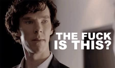 Watch and share Benedict Cumberbatch GIFs and What The Fuck GIFs by Reactions on Gfycat