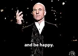 Watch and share Saturday Night Live GIFs and Sir Patrick Stewart GIFs on Gfycat
