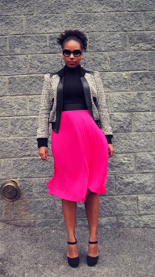 Watch and share Pink Skirt GIFs on Gfycat