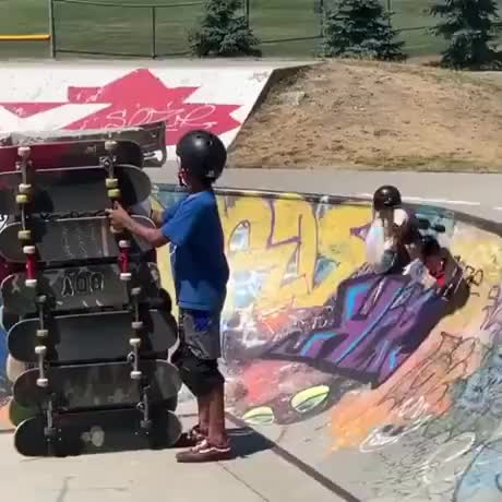 Dedication To Learn New Trick Finally Pays Off GIFs