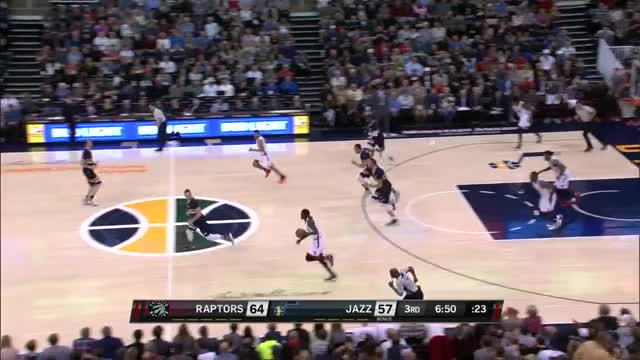 Watch Toronto Raptors  Utah Jazz (23.12.2016) GIF on Gfycat. Discover more related GIFs on Gfycat