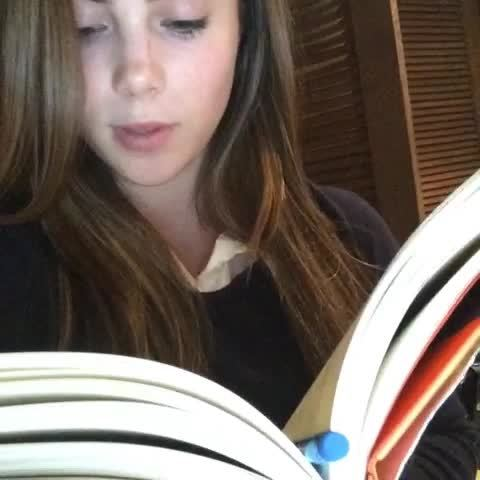 McKaylaMaroney, StarletGIFS, McKayla Maroney studying (reddit) GIFs