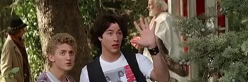 Watch and share Billy The Kid GIFs and Bill And Ted GIFs on Gfycat