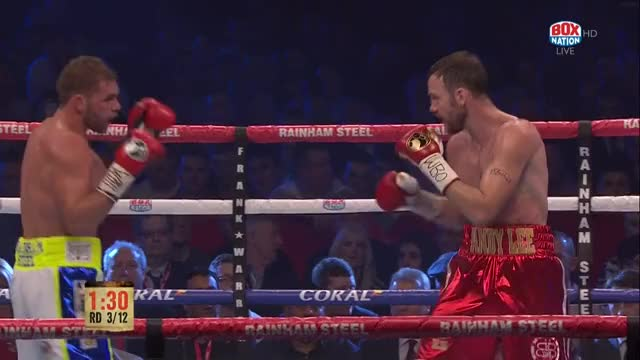 Watch Billy Joe Saunders ducks under Andy Lee's left then puts him down with a hard right hook GIF by Tom_Cody (@tomcody) on Gfycat. Discover more Andy Lee, Billy Joe Saunders, Boxing, KD, Knockdown GIFs on Gfycat