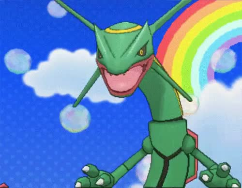 Watch this GIF on Gfycat. Discover more *, amie, pokegraphic, rayquaza GIFs on Gfycat