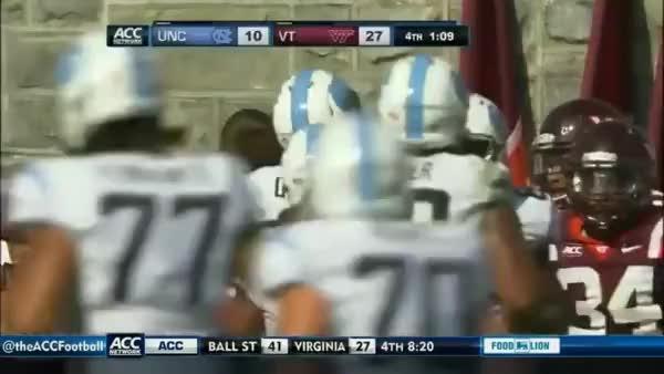 Watch Quinshad Davis (WR North Carolina) vs Virginia Tech 2013 (reddit) GIF on Gfycat. Discover more related GIFs on Gfycat