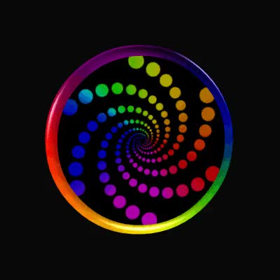 Watch and share Hypnotic Dot Spiral By Sookie By Sookiesooker GIFs on Gfycat