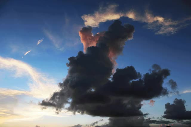 Watch and share Clouds GIFs by Tomas Key on Gfycat