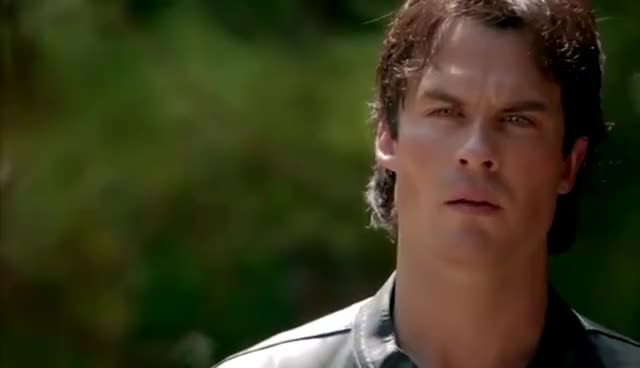 The Vampire Diaries: 8x05 - Tyler's funeral, Damon threatens to turn Matt into a vampire [HD] GIFs