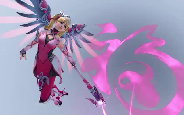 Watch Mercy Pink GIF on Gfycat. Discover more related GIFs on Gfycat
