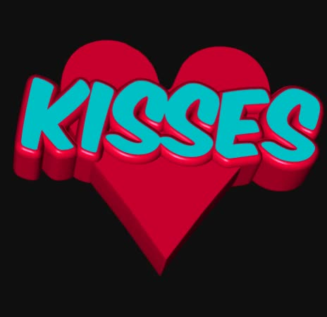 Watch and share Kisses GIFs by Susan on Gfycat