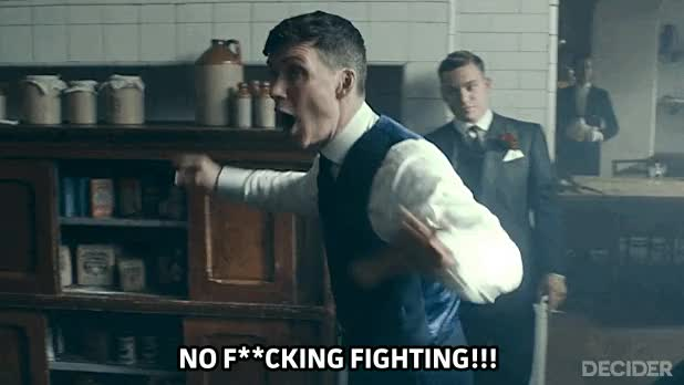Watch and share No Fighting GIFs on Gfycat