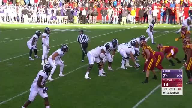 Watch and share Iowa State Cyclones - JJ Pressure Adv 4 GIFs by LandGrant Gauntlet on Gfycat