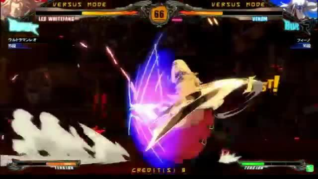 guiltygear, leo, venom, Revelator (and 1.1?) Venom notes 11 GIFs