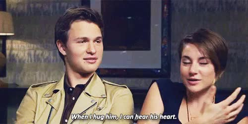 Watch Ansel Elgort GIF on Gfycat. Discover more **, 1k, 2014, 5k, ansel elgort, anselelgortedit, interview, shailene woodley, shaiwooedit, shansel GIFs on Gfycat