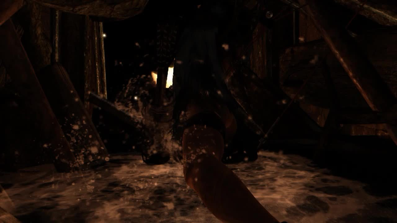 60fpsgaminggifs, [Tomb Raider] Haven't posted in a while. Here's some Lara Croft. (reddit) GIFs