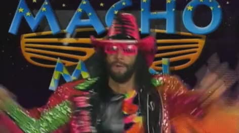 Watch macho man randy savage oh yeah GIF on Gfycat. Discover more related GIFs on Gfycat
